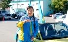 Автопробег и пресс-конференция бронзовой призерки Олимпийских игр в Рио 2016. Фоторепортаж