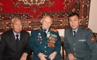 В Караганде в преддверии Дня спасателя поздравили ветерана органов гражданской защиты Сабиргали Кусенова