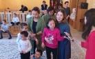 В Караганде благотворительный фонд подарил праздничный утренник детям-инвалидам