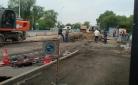 В Караганде провал в асфальте на остановке «Березка» обещают устранить к 3 августа