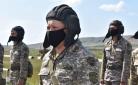 Карагандинские офицеры сдают нормативы по боевой подготовке