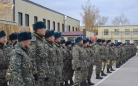 В Караганде военнослужащие проходят инспекторскую проверку