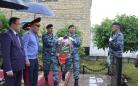 В Топаре открыли обелиск в память о погибшем сотруднике