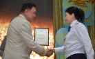 В Караганде отпраздновали День казахстанской полиции
