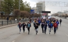 300 спортсменов пробежали по центральной улице Караганды