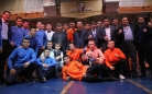 В матчевой встрече по кикбоксингу победу одержали спортсмены Карагандинской области