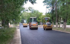 На каком этапе находятся ремонтные работы улицы Сатпаева в Караганде