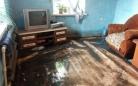 В Темиртау дождевыми водами затопило частный сектор