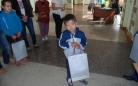 В Караганде канцелярские товары вручили детям из СОШ №10 в рамках акции