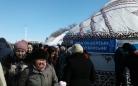 В Караганде было не так легко попасть в праздничные юрты на Наурыз