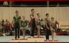 Карагандинские акробаты завоевали золотые медали на Международном турнире