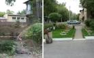 Варварским способом: карагандинцы остались без палисадника из-за замены канализационных труб