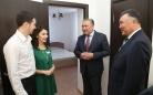 Центр гемодиализа, стоматологию и спортивный комплекс в Шахтинске посетил сегодня глава региона