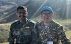 Офицер отдела военной полиции вернулся в Караганду из Ливана