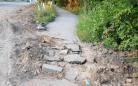 ТОО «Қарағанды Су» выполнит работы по благоустройству тротуара в Майкудуке