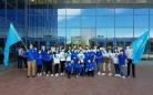 В Караганде отпраздновали День государственных символов РК