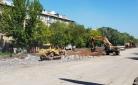 В этом году ремонт главных улиц Майкудука закончен не будет
