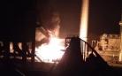 Газопровод загорелся на территории АО «АрселорМиттал Темиртау»