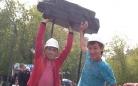 Вчера в центральном парке прошли массовые гулянья, посвященные Дню шахтера