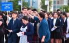 Карагандинские выпускники приступили к сдаче ЕНТ. Фоторепортаж