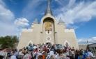 Чудотворной Казанской иконе Божией Матери поклонились православные верующие Караганды