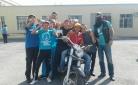 Карагандинские байкеры в преддверии учебного года посетили детский дом