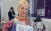 Путевку от «TengriBank» выиграла работница завода из Темиртау