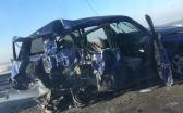 Авария на пришахтинском мосту в Караганде. Двое пострадавших находятся в тяжёлом состоянии