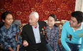 В Караганде в рамках волонтерского проекта «Қамқор» посетят 26 ветеранов
