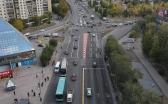 В Караганде изменена схема движения на перекрёстке Бухар-Жырау-Ермекова