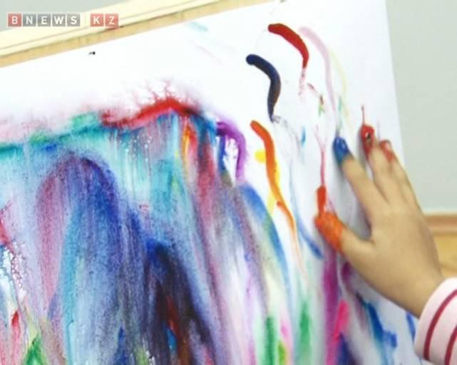 Рисунки с гуашью с пальцами