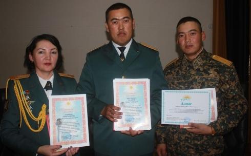 В Караганде в воинской части 5451 чествовали военнослужащих