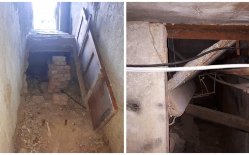Жители аварийного дома в Жезказгане бьют тревогу