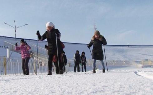Госслужащие сдали зимние спортивные президентские тесты