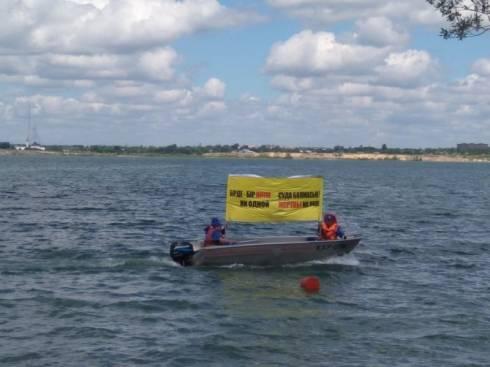 На Фёдоровском водохранилище провели акцию «Ни одной жертвы на воде!»