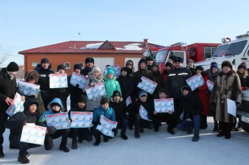 В городе Темиртау прошла выставка пожарной и спасательной техники