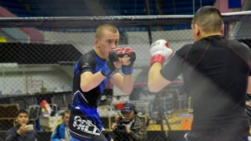 На чемпионате Казахстана по ММА в общекомандном зачёте первое место заняли бойцы из Карагандинской области