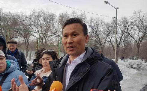 Вице-президент Федерации тенниса Казахстана собирается убедить карагандинцев в том, что теннисный корт в парке нужен
