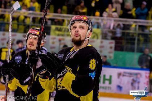 Фоторепортаж с матча финала плей-офф ВХЛ «Сарыарка» — «Рубин» 3:2