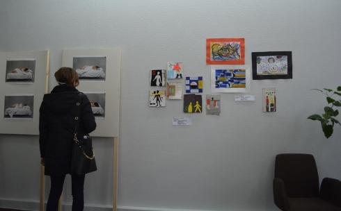В Караганде проходит выставка арт-конструкция. Фоторепортаж