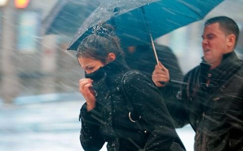 В Карагандинской области объявлено штормовое предупреждение