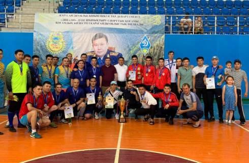 Команда ДЧС завоевала 1-место по мини-футболу среди сотрудников правоохранительных и силовых структур Карагандинской области