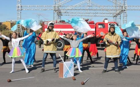 В Балхаше прошёл танцевальный конкурс среди детских коллективов