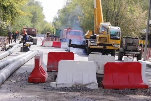 В Караганде завершается строительство четырёх новых сетей водопровода