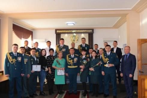 В Департаменте по ЧС Карагандинской области прошло торжественное собрание, посвященное Дню Первого Президента