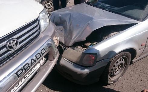 В Караганде автомобилист считает, что его незаслуженно сделали виновником ДТП