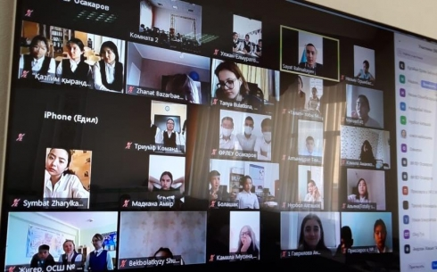 В Караганде провели областной дебатный онлайн-турнир среди школьников