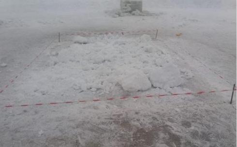 В Караганде демонтировали крещенскую купель