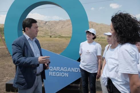 Форум и трехдневный инфотур организован в Улытау Карагандинской области для казахстанских туроператоров
