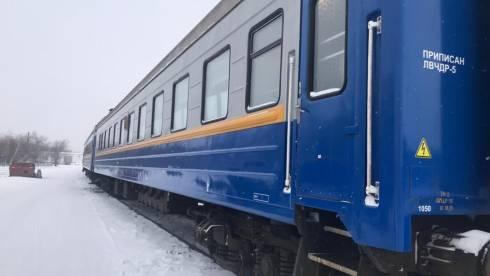 С 25 января поезд сообщением Караганда - Жезказган ходит ежедневно